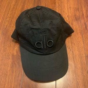 Black Alo Yoga Baseball Hat | Dad Hat